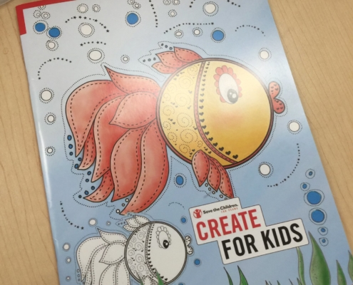 Create For Kids Coloring Book
