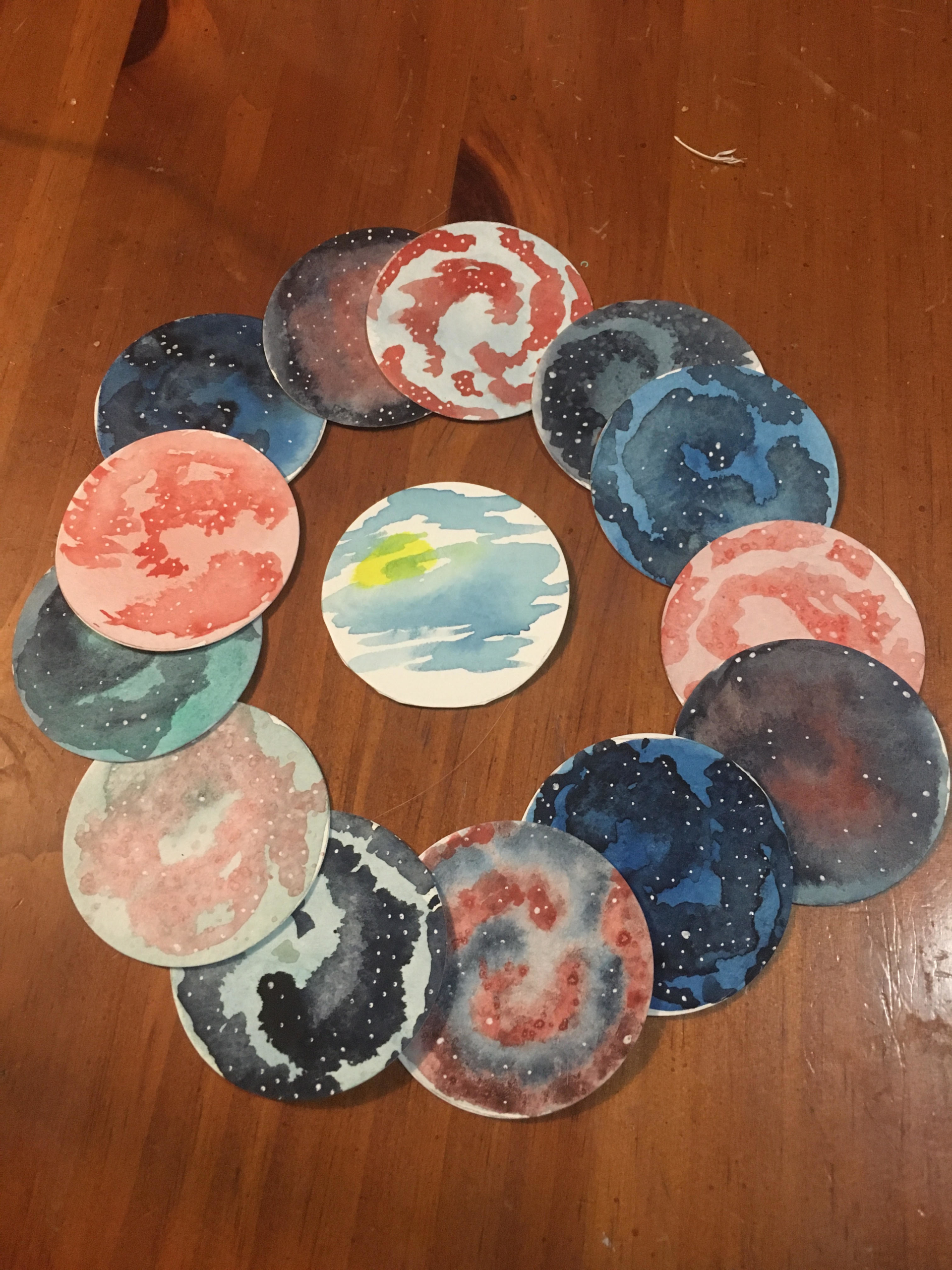 Watercolo Stickers